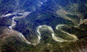 日本断朝鲜韩国的龙脉,日本风水,韩国风水