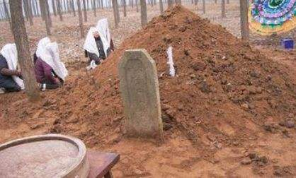 做坟墓风水,散五谷口诀