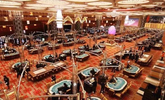 赌场的内部装饰