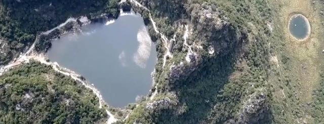 广西来宾八仙天池