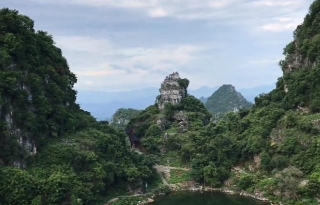 广西来宾八仙天池风水宝地