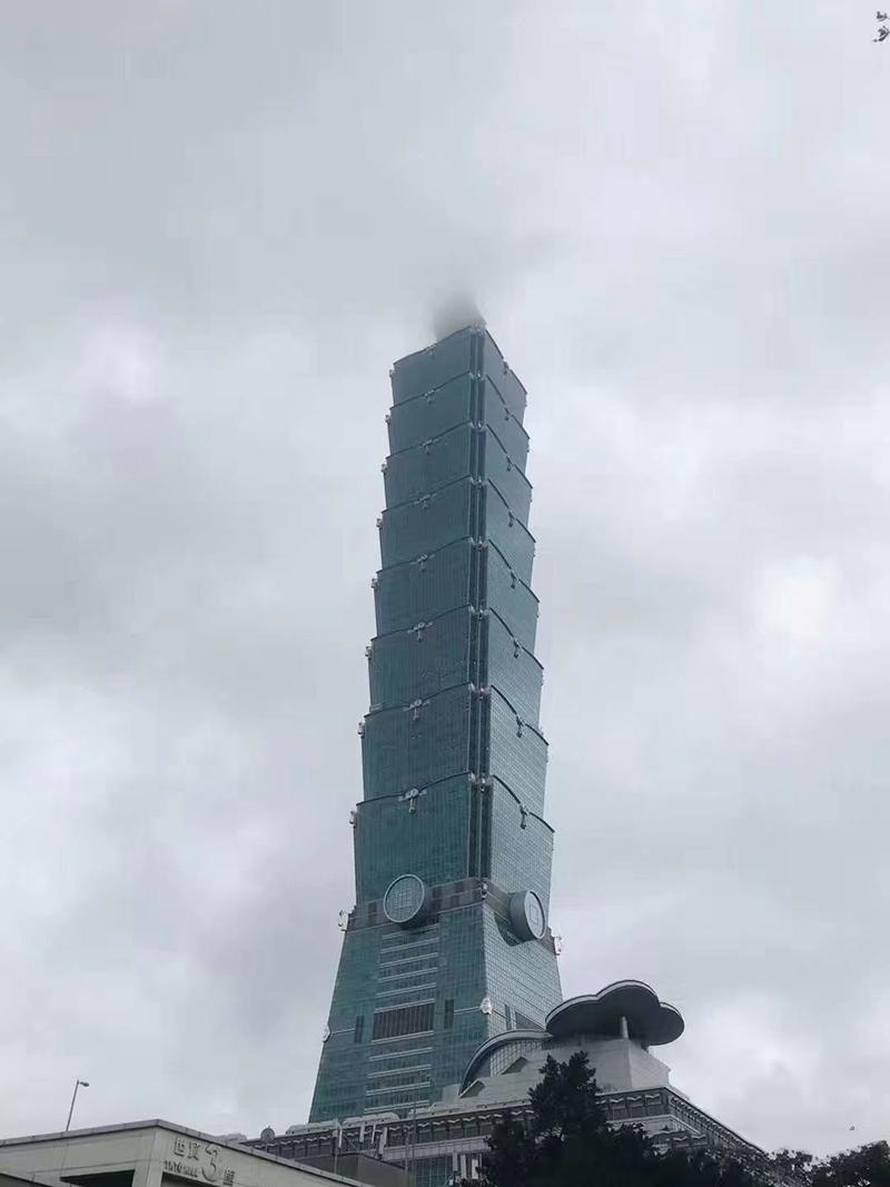 台北101大厦外形用五路财神赵公明法器