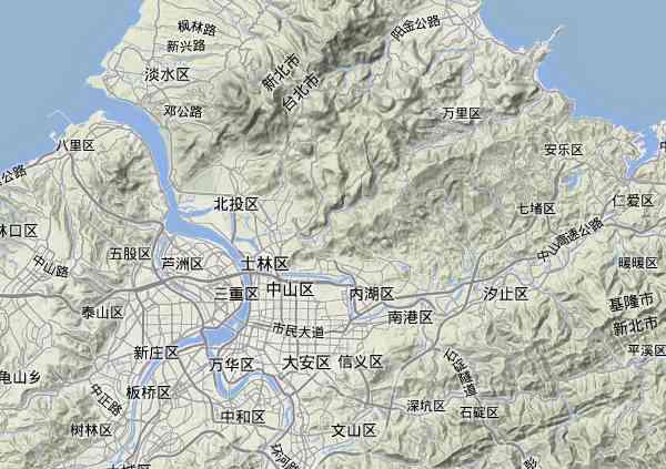 清朝风水城台北